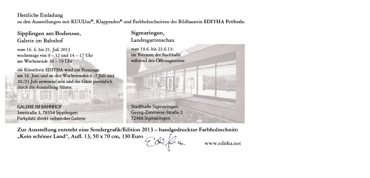 Einladungskarte Sipplingen und Sigmaringen-01