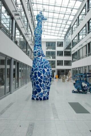 KUULlu Zaraffa - die blaue Giraffe